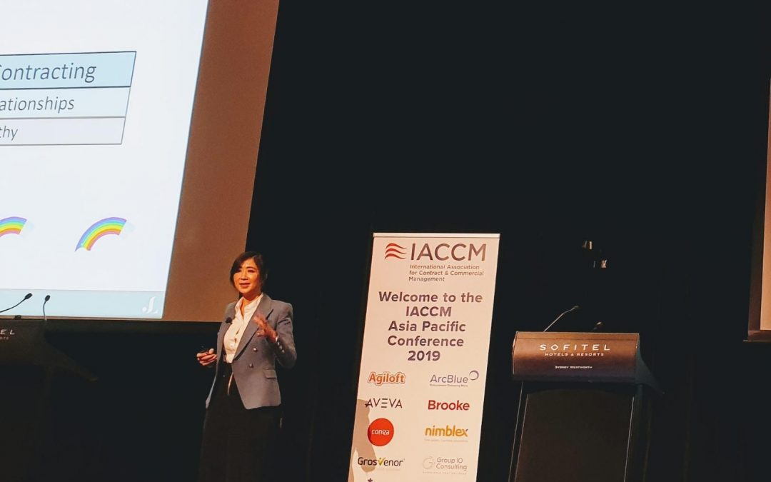 Keynote on Empathy at the IACCM Conference 2019
